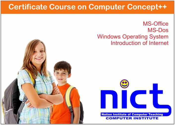 Certificate Course on Computer Concept++