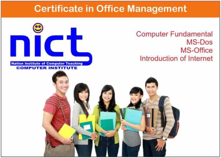 Certificate in Office Management