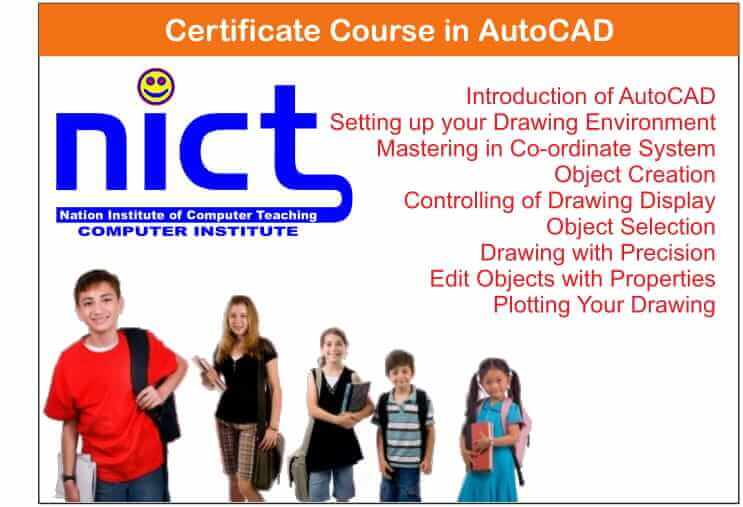 Certificate Course in AutoCAD