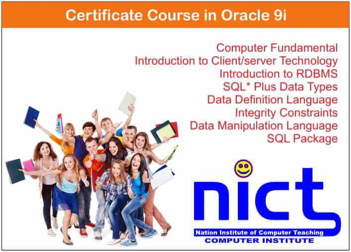 Certificate Course in Oracle 9i