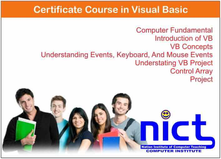 Certificate Course in Visual Basic