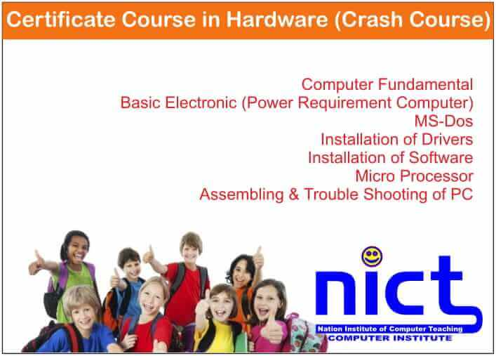 Certificate Course in Hardware (Crash Course)
